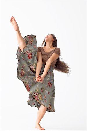Portrait of Dancer Stock Photo - Premium Royalty-Free, Code: 600-02346574