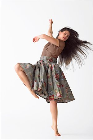 Portrait of Dancer Stock Photo - Premium Royalty-Free, Code: 600-02346573