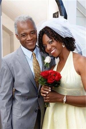 Bride and Bridegroom Stock Photo - Premium Royalty-Free, Code: 600-02376815