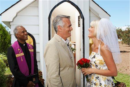 Bride and Bridegroom Stock Photo - Premium Royalty-Free, Code: 600-02376812