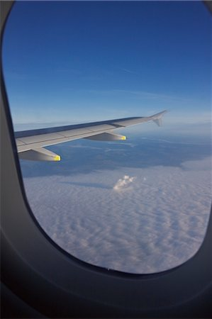 View from Airplane Window, Europe Stock Photo - Premium Royalty-Free, Code: 600-02428489