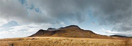 Snaefels og Hnappadalssysla, Iceland Stock Photo - Premium Royalty-Free, Code: 600-02463535