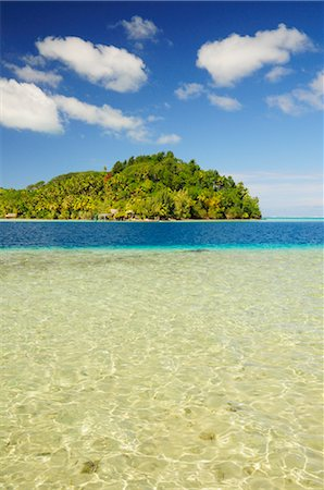 french polynesia - Overview of Bay, Huahine, French Polynesia Stock Photo - Premium Royalty-Free, Code: 600-02590611