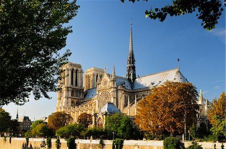simsearch:600-02428966,k - Notre Dame Cathedral, Ile de la Cite, Paris, France Stock Photo - Premium Royalty-Free, Code: 600-02590905