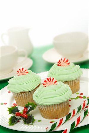 Cupcakes Stock Photo - Premium Royalty-Free, Code: 600-02593768