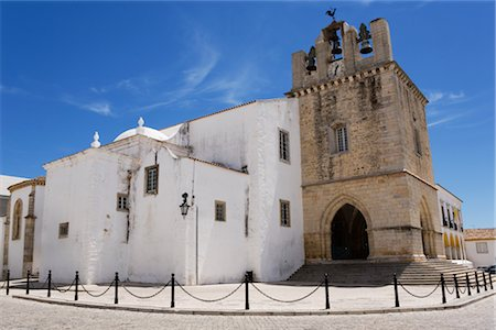 portuguese (places and things) - Faro Cathedral, Faro, Portugal Stock Photo - Premium Royalty-Free, Code: 600-02638108