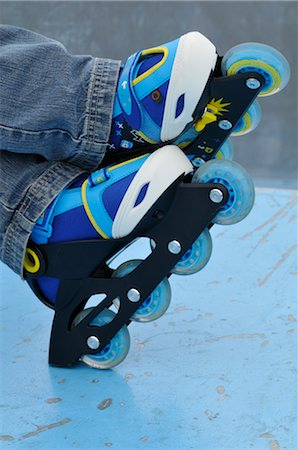 Close-Up of Roller Blades Stock Photo - Premium Royalty-Free, Code: 600-02659568