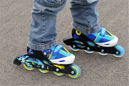 Close-Up of Roller Blades Stock Photo - Premium Royalty-Free, Code: 600-02659569