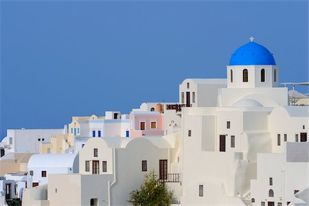 Church, Oia, Santorini, Cyclades Islands, Greece Stock Photo - Premium Royalty-Free, Code: 600-02659664