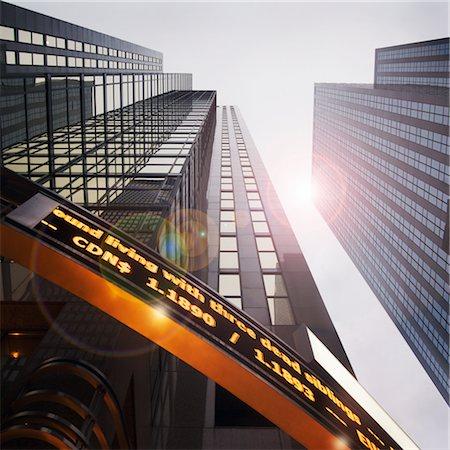 stock exchange building - Looking Up at Reuters Building, Toronto, Ontario, Canada Stock Photo - Premium Royalty-Free, Code: 600-02659684