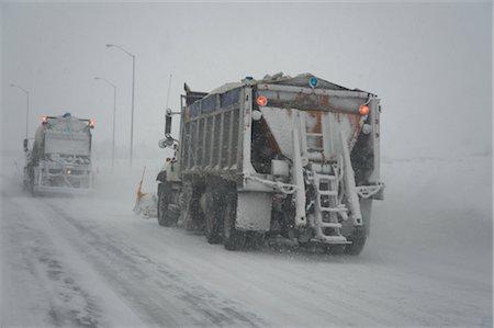 plow - Snowplow on Highway, Ontario, Canada Stock Photo - Premium Royalty-Free, Code: 600-02670640