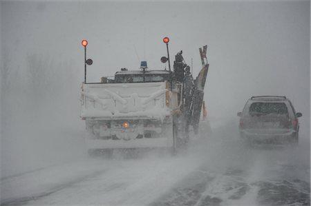 plow - Snowplow on Highway, Ontario, Canada Stock Photo - Premium Royalty-Free, Code: 600-02670641
