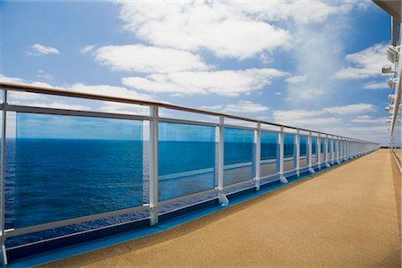 Cruise Ship Deck and Railing Stock Photo - Premium Royalty-Free, Code: 600-02671101