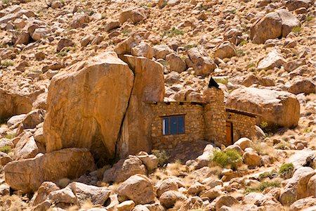 Stone House at Eagle's Nest Lodge, Klein-Aus Vista, Gondwana Sperrgebiet Rand Park, Namibia Stock Photo - Premium Royalty-Free, Code: 600-02700907