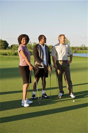 People on Golf Course, Burlington, Ontario, Canada Stock Photo - Premium Royalty-Free, Code: 600-02701116