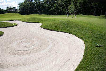People on Golf Course, Burlington, Ontario, Canada Stock Photo - Premium Royalty-Free, Code: 600-02701120
