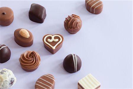 Still Life of Chocolates Stock Photo - Premium Royalty-Free, Code: 600-02756813
