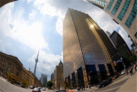 Bay and Front, Toronto, Ontario, Canada Stock Photo - Premium Royalty-Free, Code: 600-02751549