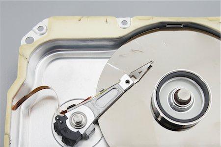 Close-Up of Computer Parts Stock Photo - Premium Royalty-Free, Code: 600-02801134