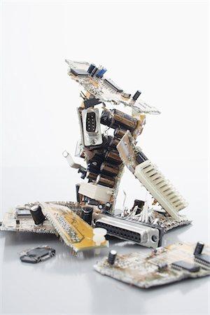 Close-Up of Computer Parts Stock Photo - Premium Royalty-Free, Code: 600-02801137