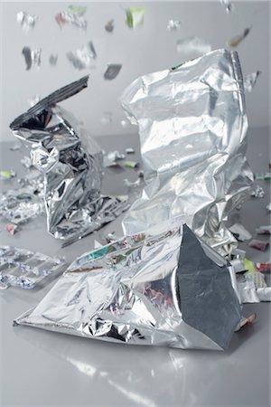 Silver Plastic Bags Stock Photo - Premium Royalty-Free, Code: 600-02801140