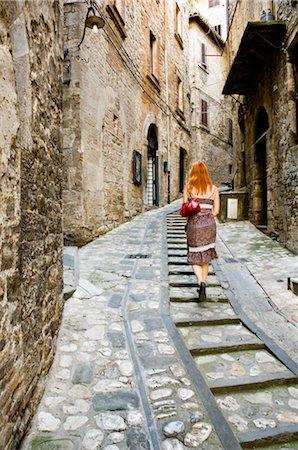 Todi, Province of Perugia, Umbria, Italy Stock Photo - Premium Royalty-Free, Code: 600-02828604