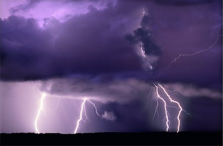 Lightning Stock Photo - Premium Royalty-Free, Code: 600-02886316