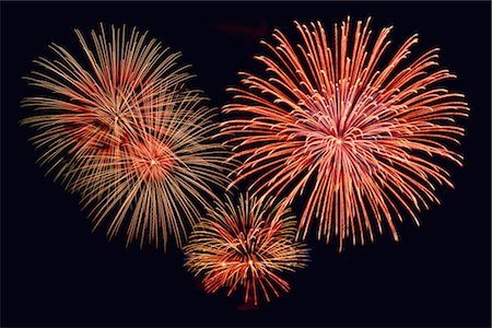 fireworks colored picture - Fireworks Stock Photo - Premium Royalty-Free, Code: 600-02886320