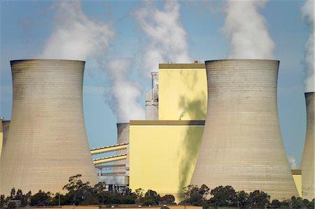 Brown Coal Coal Power Station, La Trobe Valley, Australia Stock Photo - Premium Royalty-Free, Code: 600-02886517