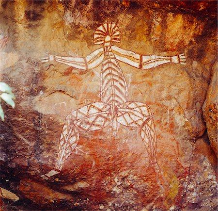 prehistoric - Aboriginal Rock Art, Australia Stock Photo - Premium Royalty-Free, Code: 600-02886538