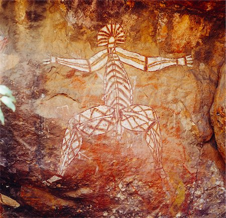 prehistoric - Aboriginal Rock Art, Australia Stock Photo - Premium Royalty-Free, Code: 600-02886538