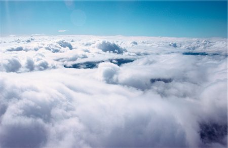 fluffy - Cloudscape from Above Stock Photo - Premium Royalty-Free, Code: 600-02886590