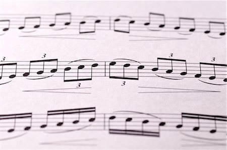 sheet music background - Close-up of Sheet Music Stock Photo - Premium Royalty-Free, Code: 600-02912550