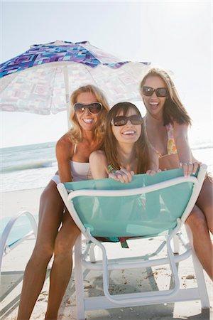 Women on Beach, Florida, USA Stock Photo - Premium Royalty-Free, Code: 600-02957687
