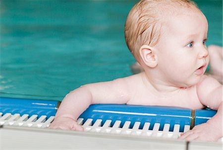 Baby in Swimming Pool Stock Photo - Premium Royalty-Free, Code: 600-03004377