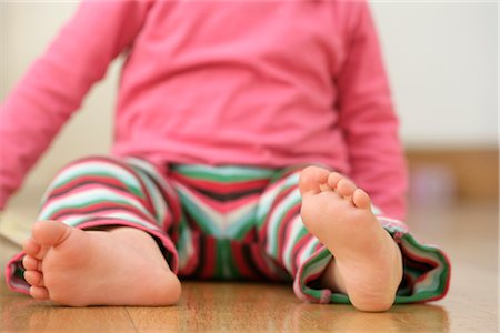 Close-up of Baby's Feet Stock Photo - Premium Royalty-Free, Code: 600-03016955