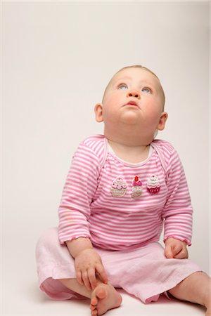 Portrait of Baby Girl Stock Photo - Premium Royalty-Free, Code: 600-03016963
