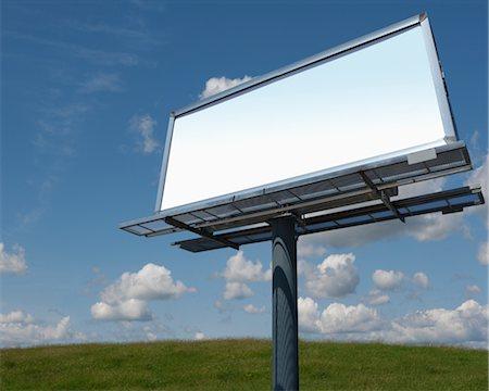 entry field - Blank Billboard Stock Photo - Premium Royalty-Free, Code: 600-03058949