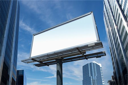 entry field - Blank Billboard Stock Photo - Premium Royalty-Free, Code: 600-03058943