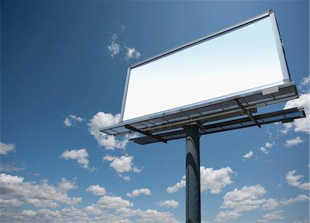 Blank Billboard Stock Photo - Premium Royalty-Free, Code: 600-03058950