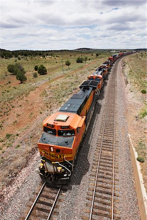 Freight Train, Arizona, USA Stock Photo - Premium Royalty-Free, Code: 600-03075780