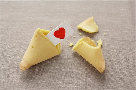 Fortune Cookie Stock Photo - Premium Royalty-Free, Code: 600-03178750