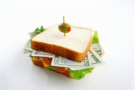 pimento - Money Sandwich Stock Photo - Premium Royalty-Free, Code: 600-03178896