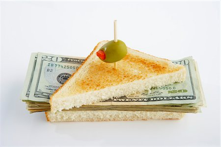 pimento - Money Sandwich Stock Photo - Premium Royalty-Free, Code: 600-03178898