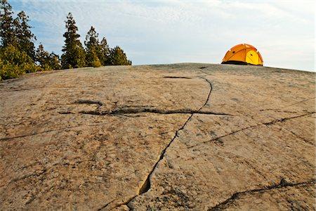 Camping on the Canadian Shield, Georgian Bay, Ontario, Canada Stock Photo - Premium Royalty-Free, Code: 600-03333191