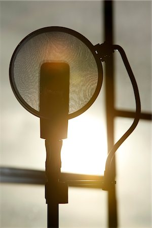 Microphone Stock Photo - Premium Royalty-Free, Code: 600-03404139