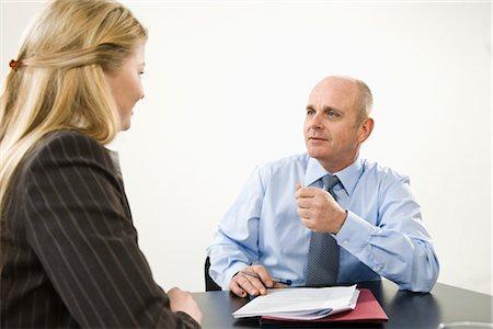 Businesspeople Talking Stock Photo - Premium Royalty-Free, Code: 600-03404526