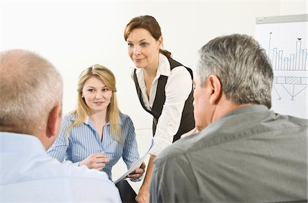 Business Meeting Stock Photo - Premium Royalty-Free, Code: 600-03404547