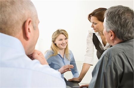 Business Meeting Stock Photo - Premium Royalty-Free, Code: 600-03404549