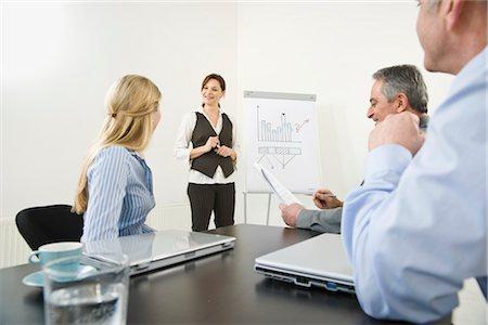 Business Meeting Stock Photo - Premium Royalty-Free, Code: 600-03404553